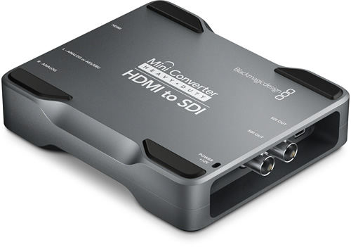 Blackmagic Design Announces New Super Heavy Duty Mini Converters