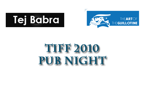 TIFF 2010 Pub Night