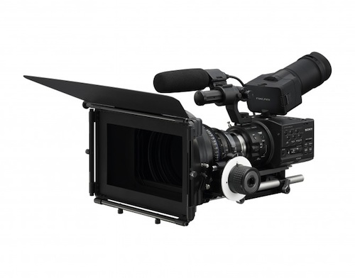 Sony Releases The NEX FS 100