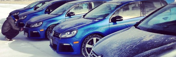 VW Golf R at Toronto Motorsport