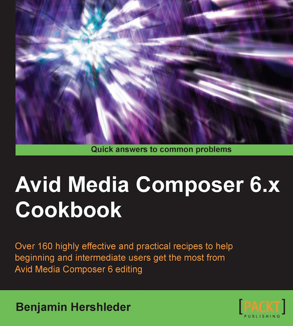 Avid Media Composer 6.X Cookbook Review