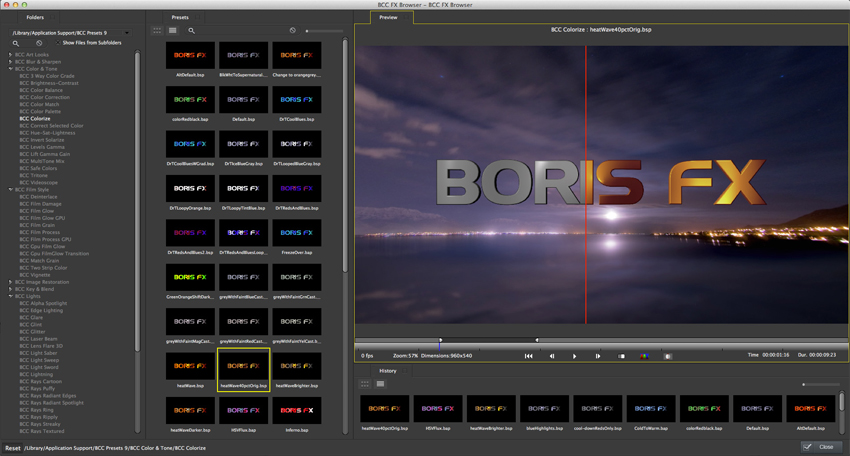 Boris FX BCC 9 Review